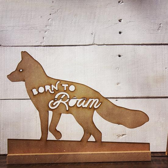 Born to roam statue