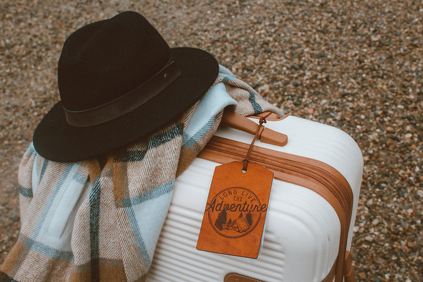 long live the adventure luggage tag