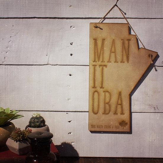 Manitoba wall hanging