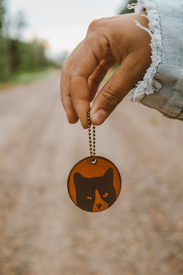 forrest collective keychain