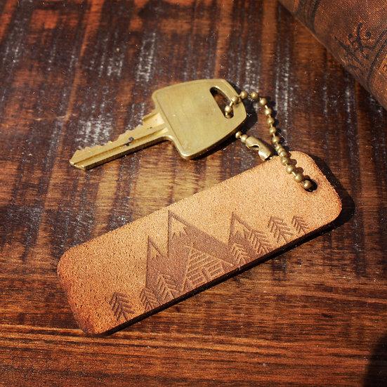 Living life keychain