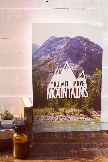 You Will Move Mountains poster
