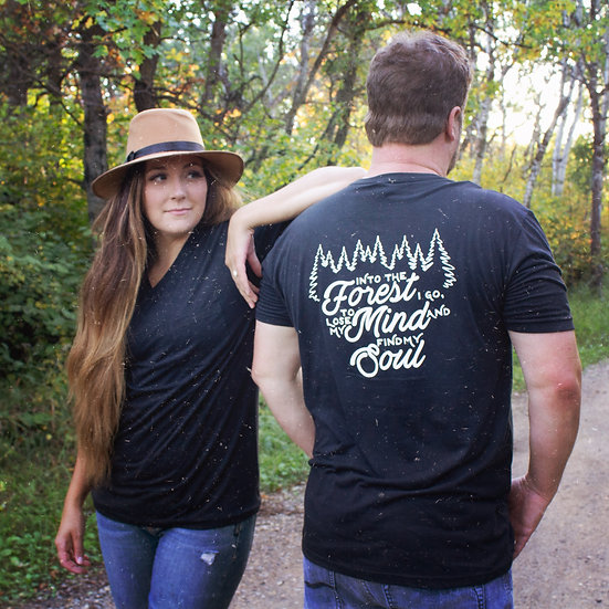 Into the forest I go to lose my mind and find my soul tee