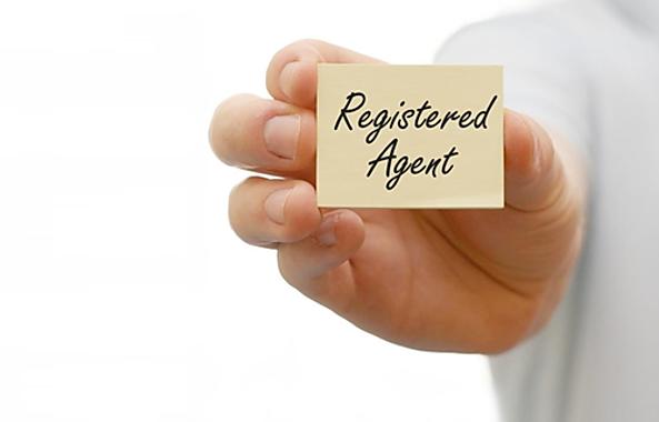 Registered Agent Business Card