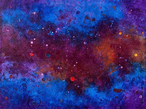 Circles III: Magenta/Blue