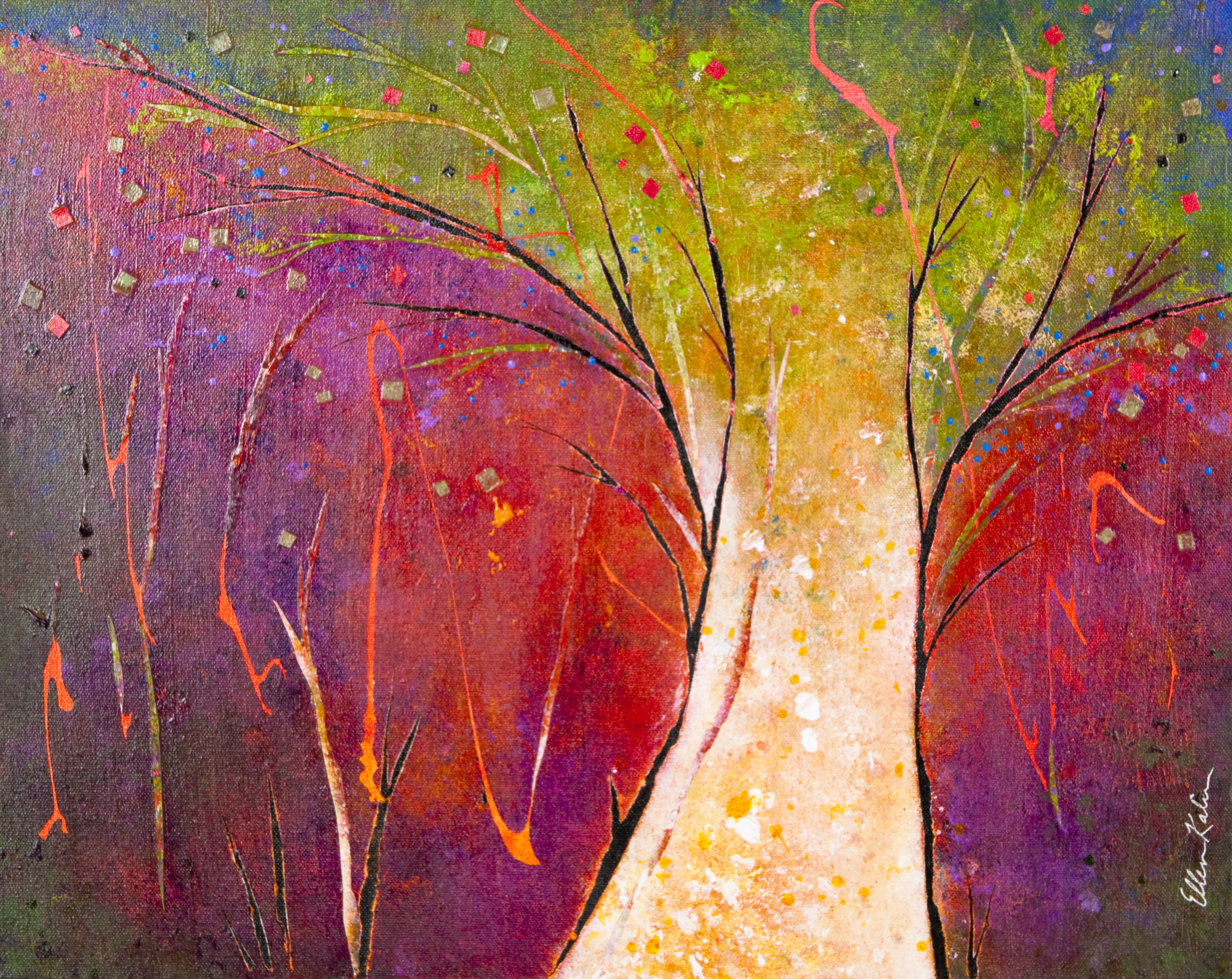 Tree of Light - 20x16, $650