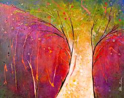 Tree of Light - 20x16, $650