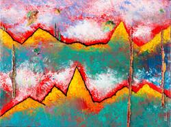 Southwest Mountains - 12x16, $525