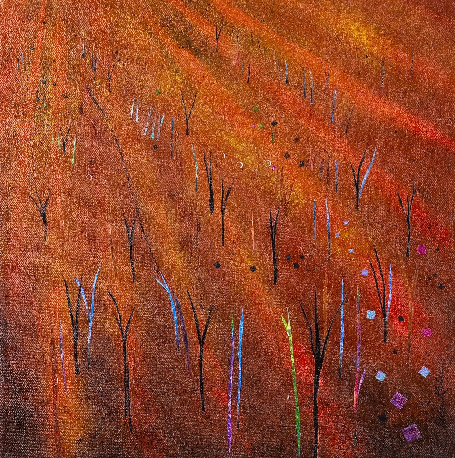 Orange Grove - 12x12, $300