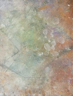Sidewalk Pebbles - 12x16, $450