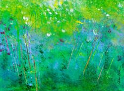 Summer Breeze - 9x12, $225