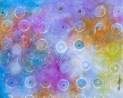 Circles IV - 20x16, $675
