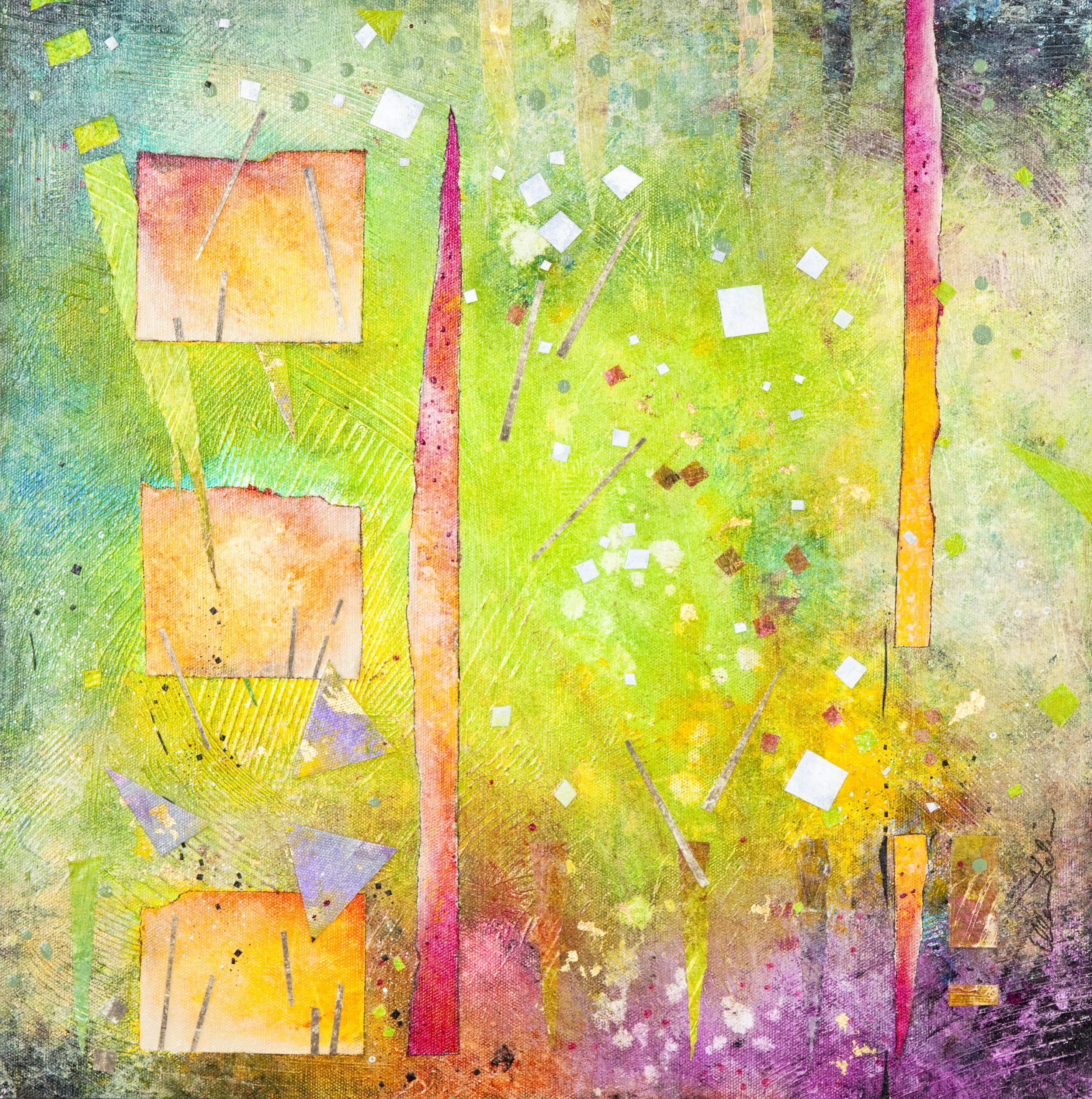 Three Squares - 18x18, $675