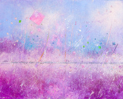 Sidewalk: Pastels - 16x20, $650