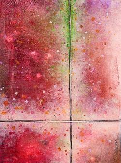 Sidewalks: Moss - 12x16, $450