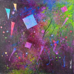 Grasses, Kites... - 16x16, $500