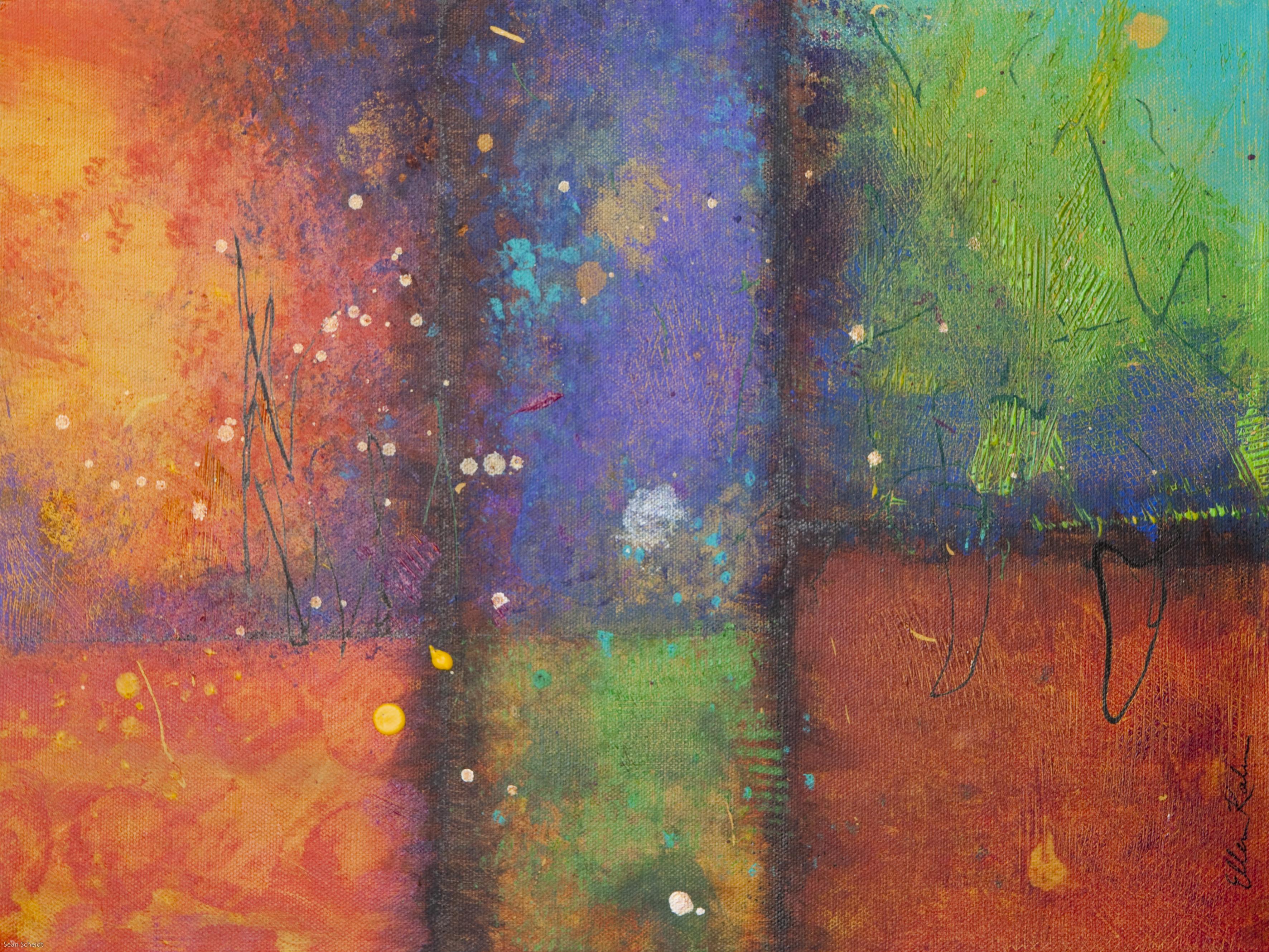 Bright Sidewalk - 16 x 12, $430