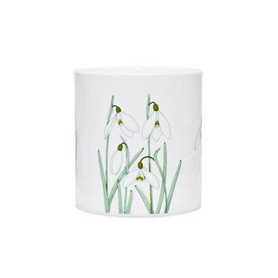 Snowdrops short vase
