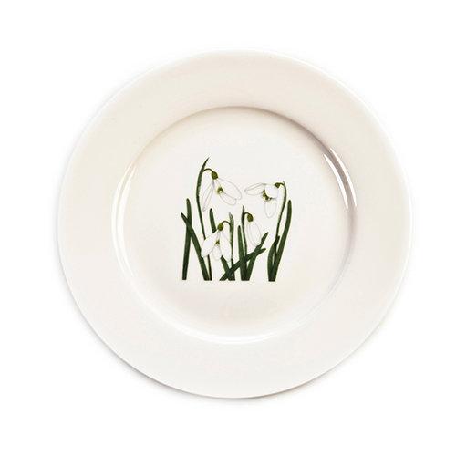 Snowdrop plate