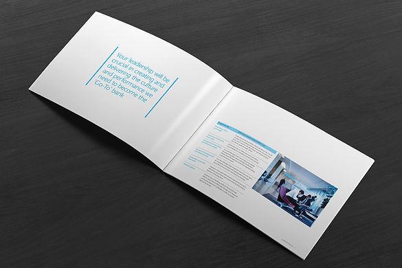 Barclays Leadership brochure spread 72p.