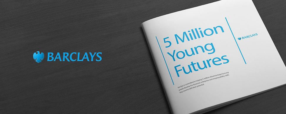 Barclays 5 million futures header image
