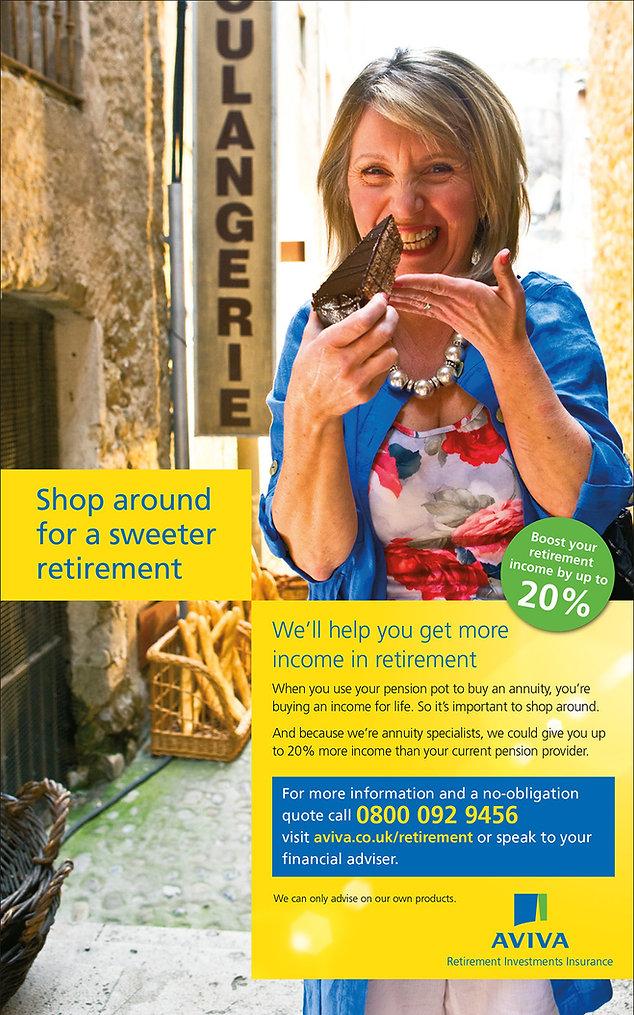 AVIVA Retirement cake 72p.jpg