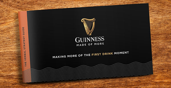Guinness First Drink Verbal Strategy cov
