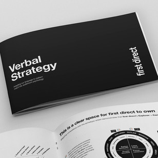 First Direct Brand & Verbal Strategy
