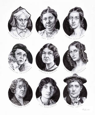 Nine Composers (who all happen to be women)