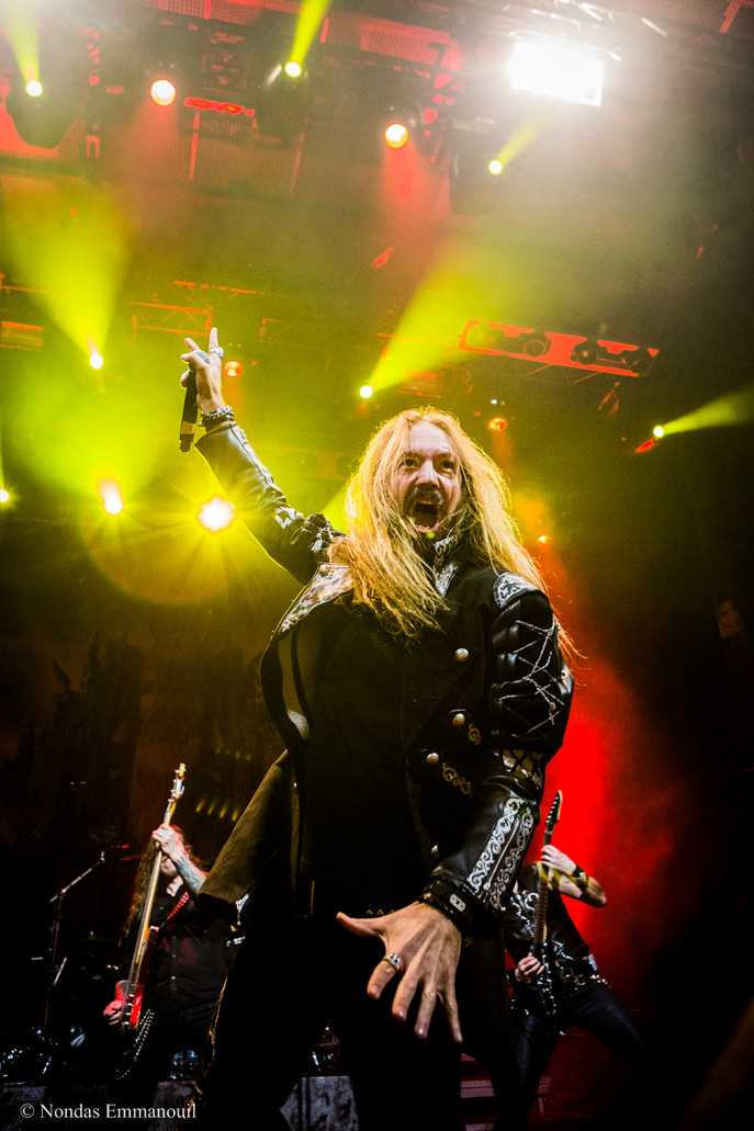 HAMMERFALL live at Fuzz Live Music Club, Athens