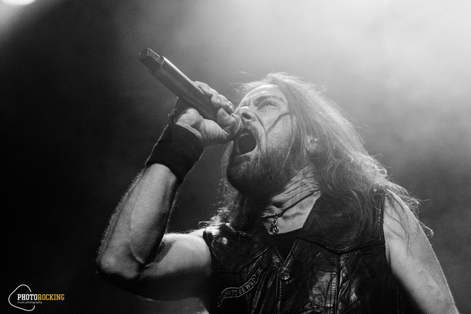 Flotsam and Jetsam, Memorain, Desert near the end, Hailsteel live at Kyttaro Live Club, Athens
