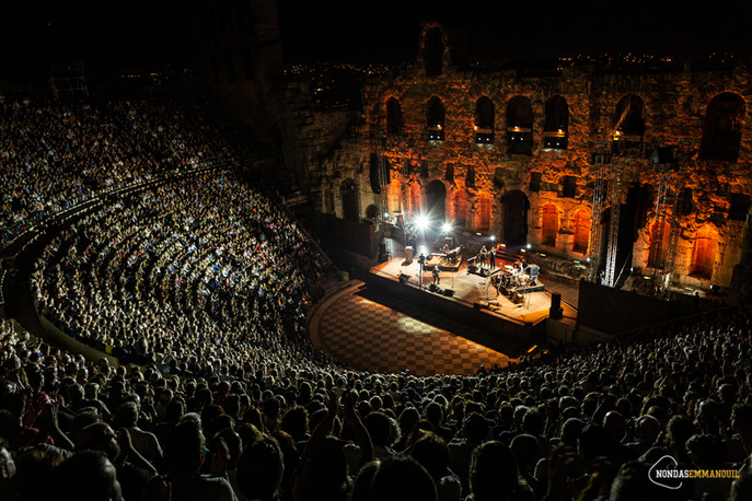 Eric Burdon & The Animals @ Odeon of Herodes Atticus, Athens