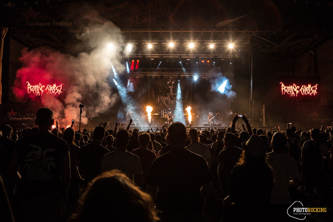 Rockwave Festival (Day 1) - Rotting Christ, 1000MODS, Nightstalker, Innerwish, Bazooka, Godsleep in