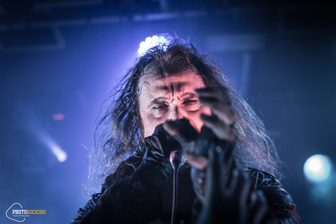 Moonspell, The Foreshadowing, Eleine live at Kyttaro Live Club, Athens