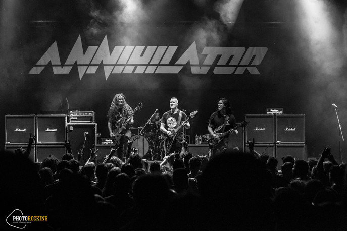 Annihilator, Foray Between Ocean live at Piraeus 117 Academy, Athens