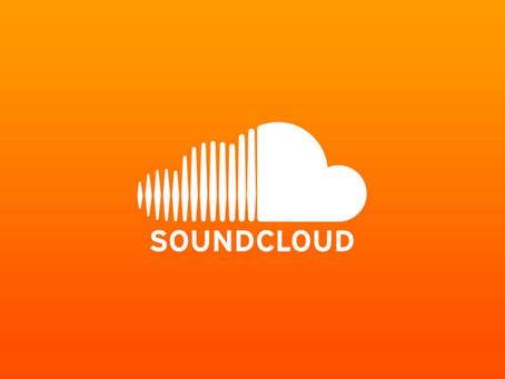 Arhiv posnetih skladb na SoundCloud-u