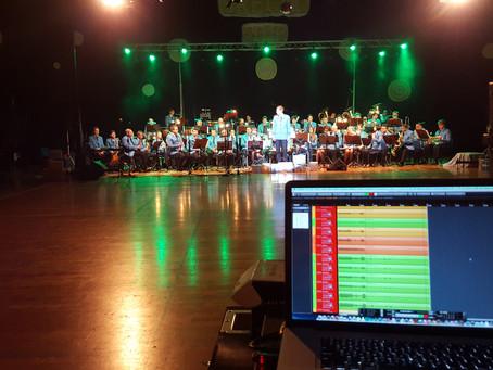 Snemanje koncerta Pihalnega orkestra Trebnje