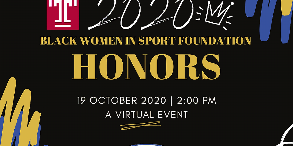 The Blockson Collection Presents The 2020 Black Women in Sport Foundation Honors