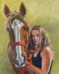 Alex & her horse