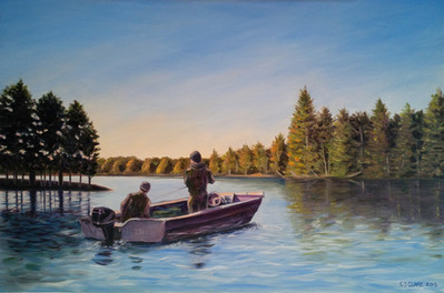 Fishing in the Bay