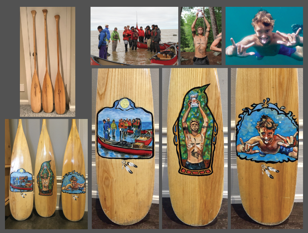 Paddle Paintings