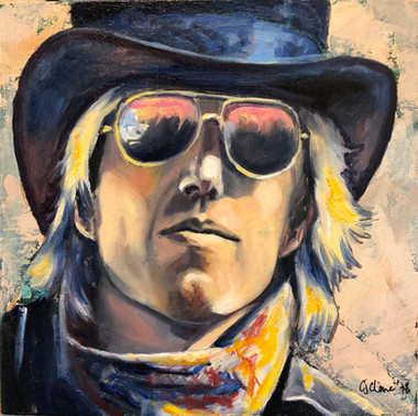 Tom Petty in Top Hat