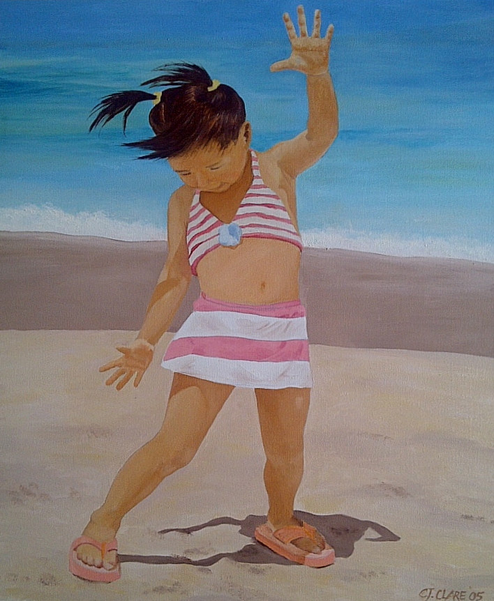 Tiny Beach Dancer
