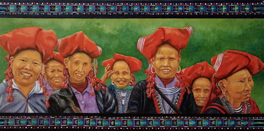 Ladies of Laos