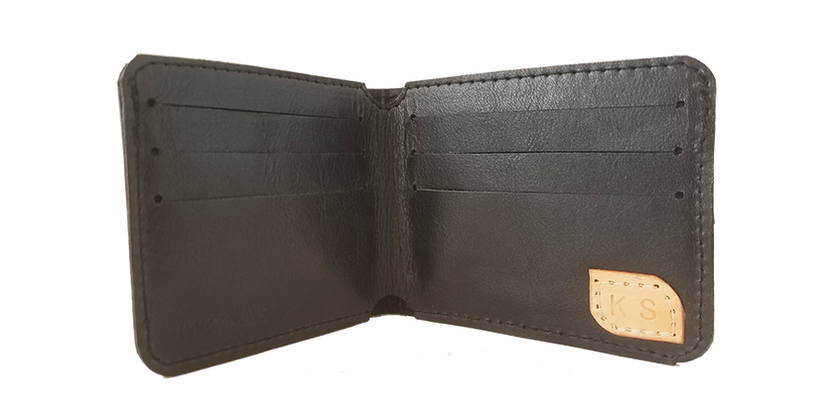 timmymays custom leather wallet_bi fold.