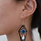 Thumbnail: EVIL EYE SPEAR EARRINGS