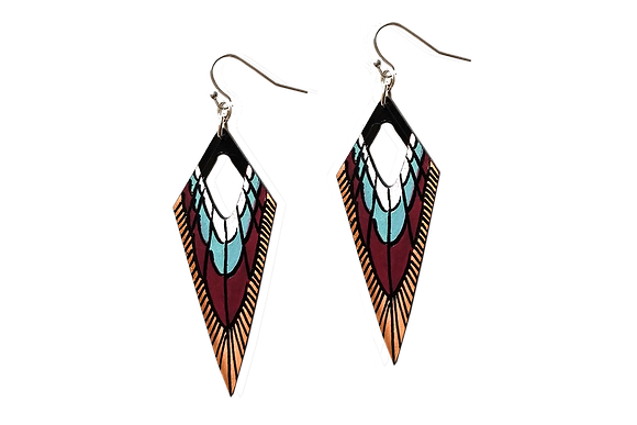 NATIVE SPEAR EARRINGS