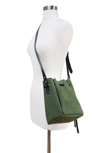 timmymays quinn leather bucket bag_olive