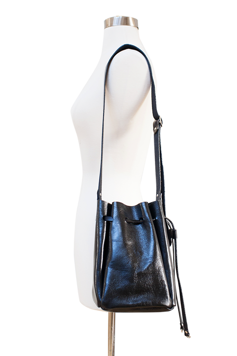 timmymays quinn leather bucket bag_black