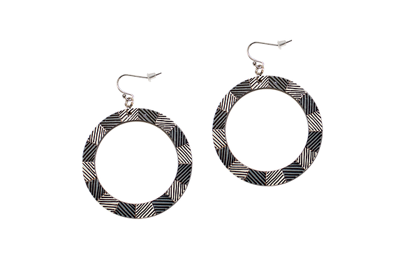 LYDIA HOOP EARRINGS